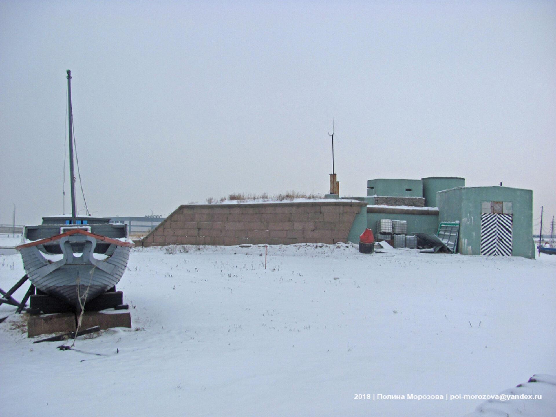 Форт «Великий Князь Константин» изимний Финский