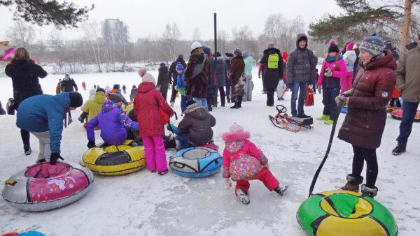 Проводы зимы вНижнем Новгороде. Сормовский парк