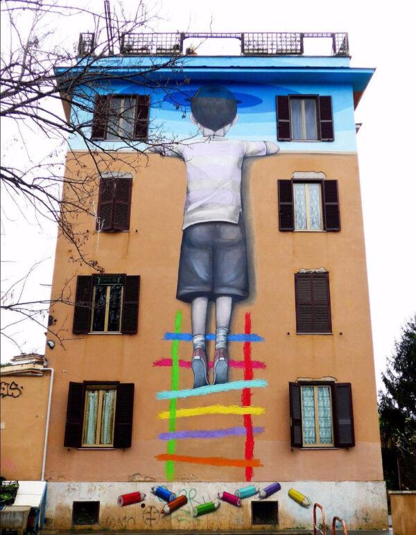 Граффити истрит арт изразных городов