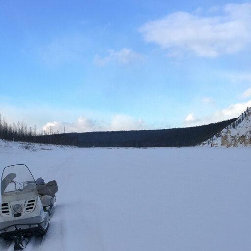 В гостях у якутского охотника, зимние приключения. На рыбалку!