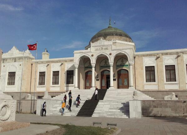 Анкара. Этнографический музей. Музей анатолийских цивилизаций.