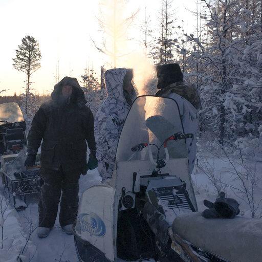 В гостях у якутского охотника, зимние приключения. На подвиг!