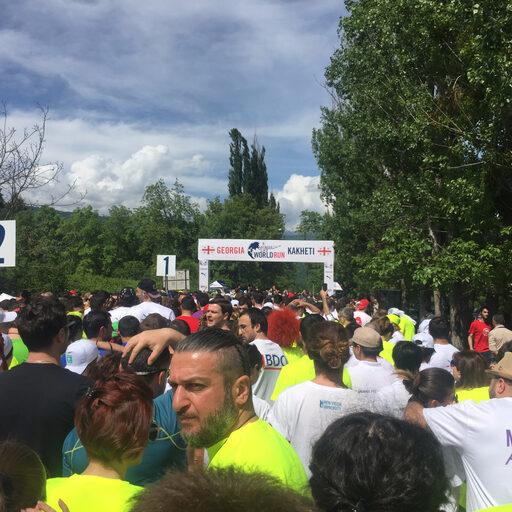 Wings for Life Worldrun 2017 — Kakheti — или за тех, кто не может
