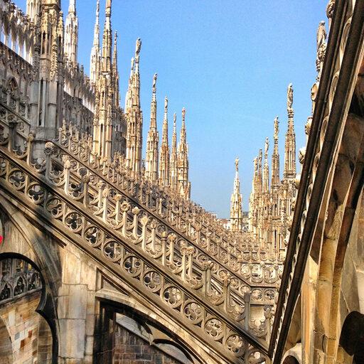 ITALY. 2 часть. Болонья-Венеция-Милан. Рига