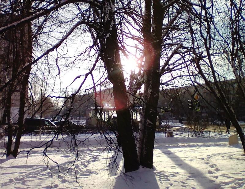 Зимняя радуга