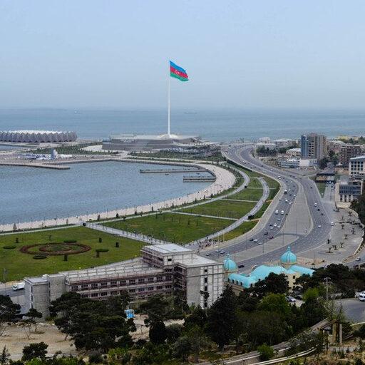 Баку. С высоты Нагорного парка