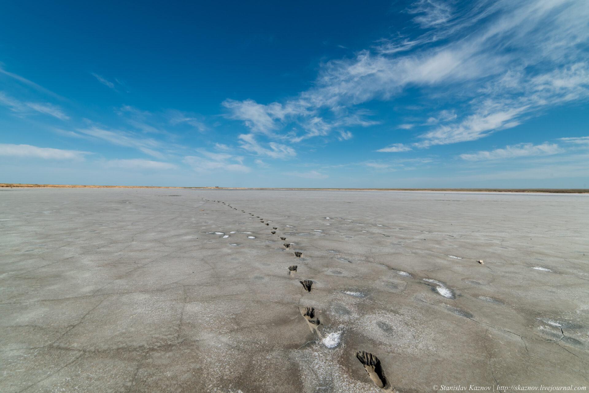 Озеро Эльтон. Марс атакует!
