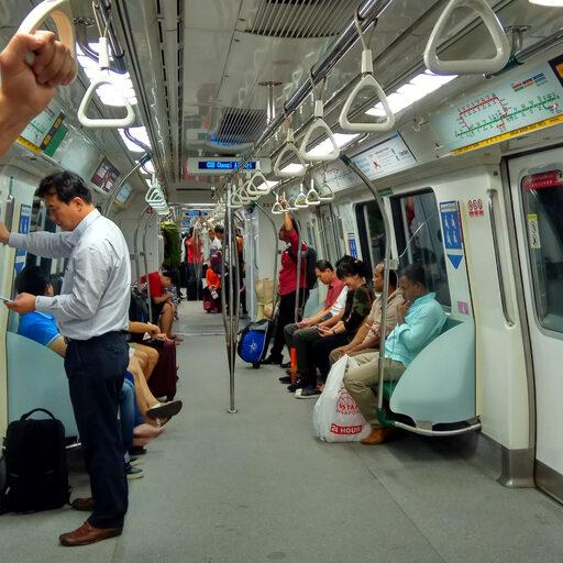 День в красочном Сингапуре