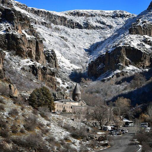 Монастырь Гегард и озеро Севан