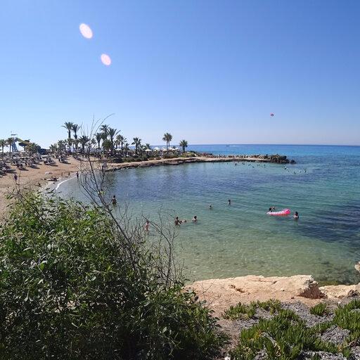 Кипр — Айя-Напа — пляжная — Cyprus — Ayia-Napa