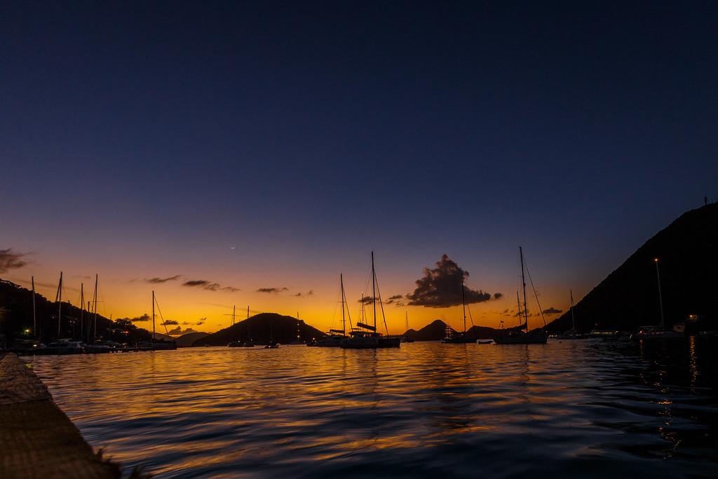 Британские Виргинские острова. Йост-ван-Дейк. (судовой журнал день 2)