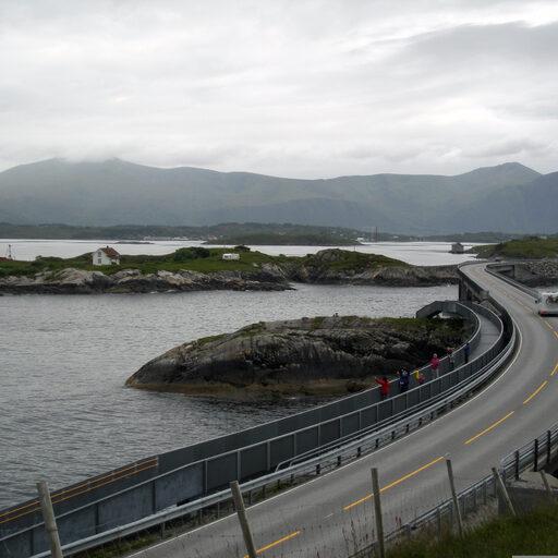 Норвегия. Атлантическая дорога и Стена Троллей