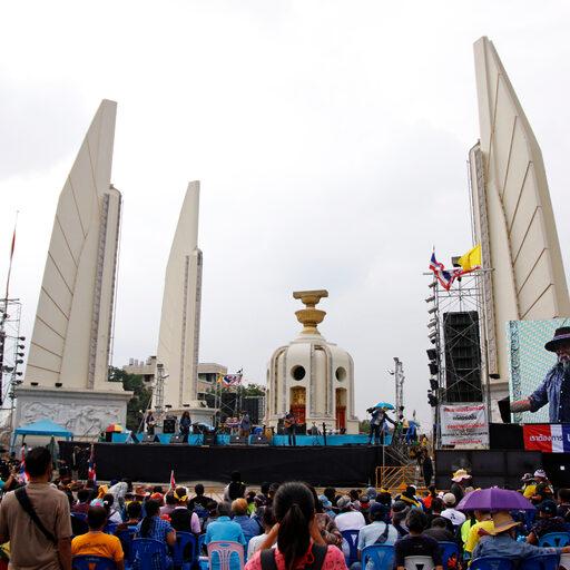 Таиланд. Многоликий Бангкок: дзен и политические митинги.