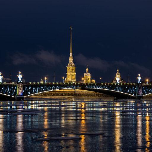 Зимний Санкт-Петербург.