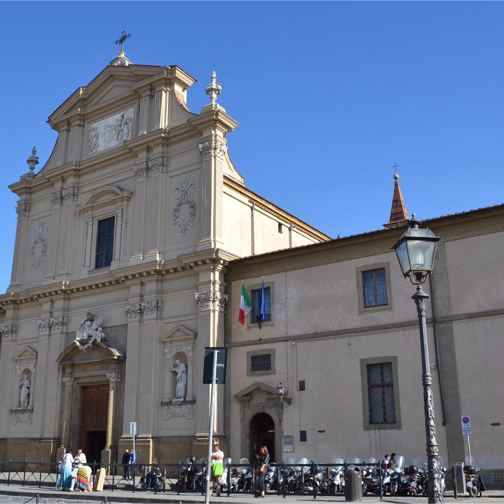 Флоренция. Церковь и монастырь Сан — Марко. I часть.