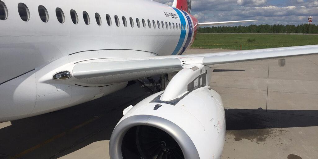 Волга под крылом самолета…