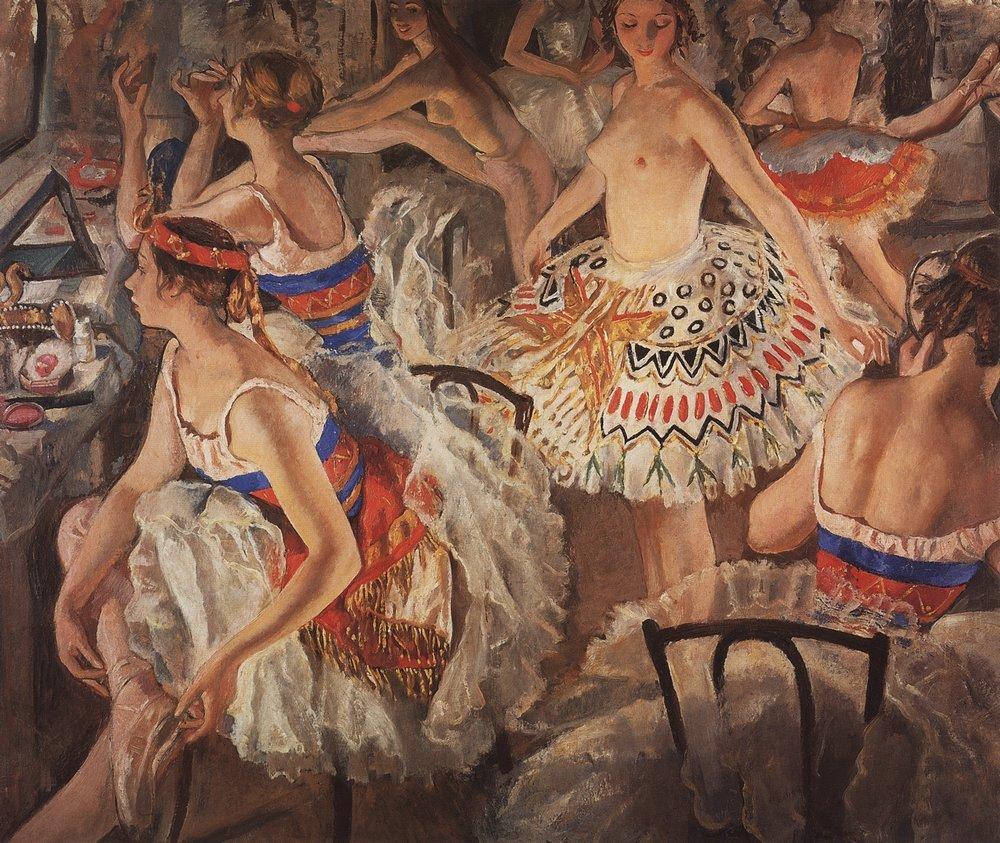 Любимые художники. Зинаида Серебрякова.