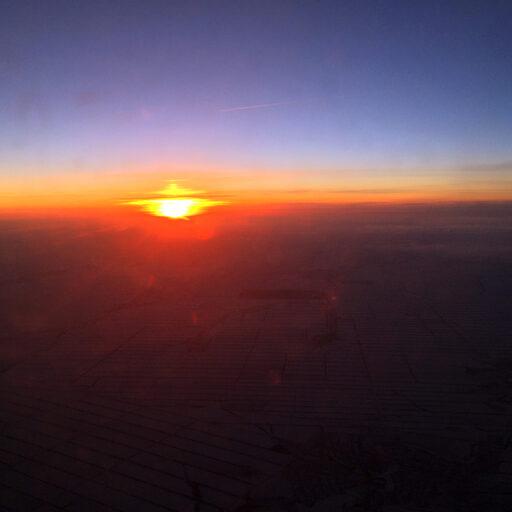 В небе над Кубанью