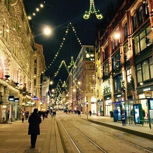 Нарядный Хельсинки