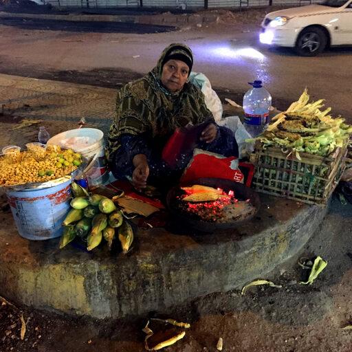 Ночной Каир…