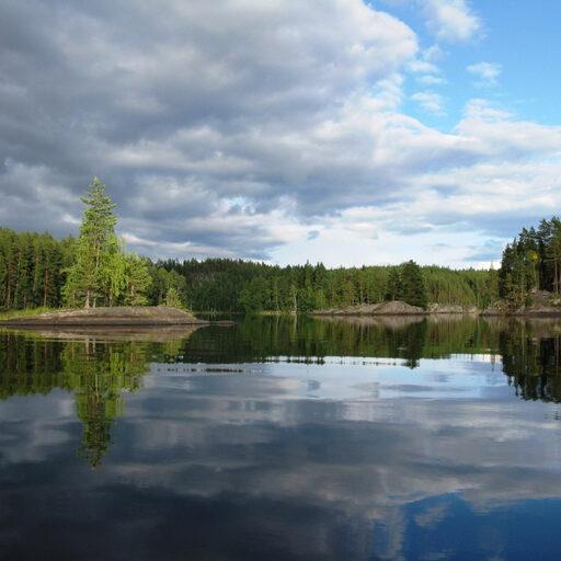 Финские озера — взгляд из байдарки