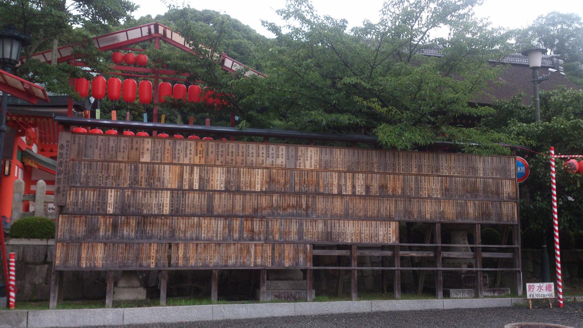 Fushimi Inari, Храм тысячи ворот