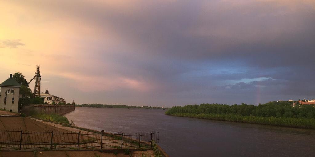 Нижний Новгород после грозы…