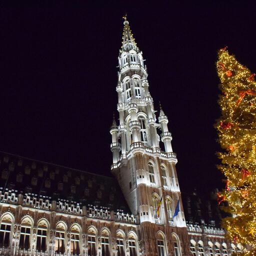 Брюссель. Новогодние зарисовки.