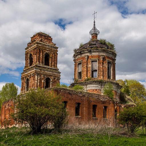 Нарышкинское барокко в селе Руднево
