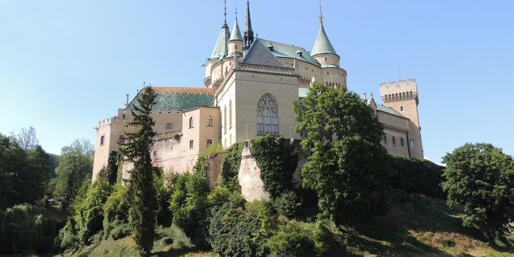 Чехия-Словакия 2018. Часть 16: Бойнице