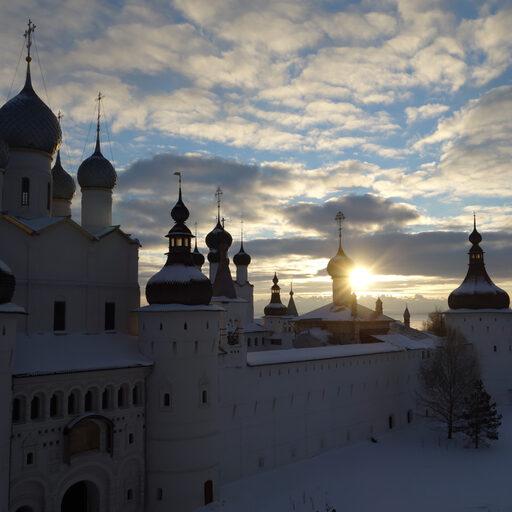 Ростов Великий зимой.