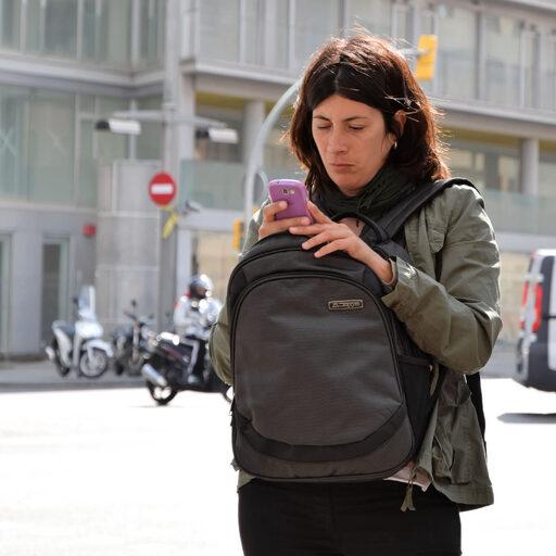 Из засады или люди на улицах Барселоны…