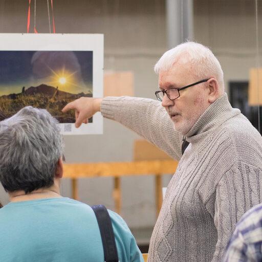 Презентация выставки Игоря Капустина «Жизнь в стиле travel»