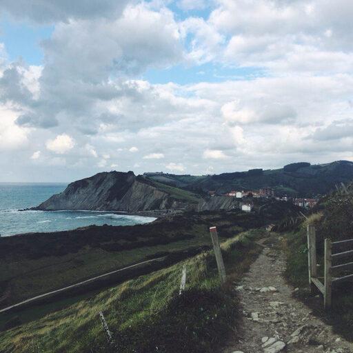 Суровое северное побережье Испании