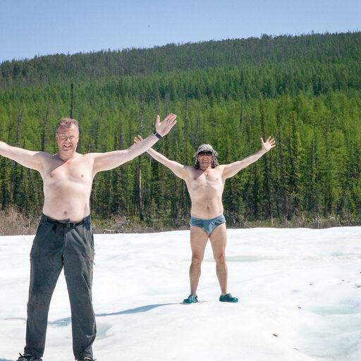Якутия, вниз по Буотаме-реке. Пора охладиться