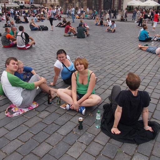 Чехия. Прага 2012. Уверенна, что вернусь…
