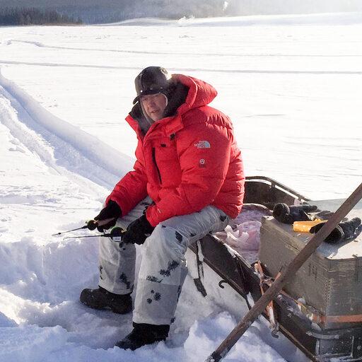 В гостях у якутского охотника, зимние приключения. Где рыба?