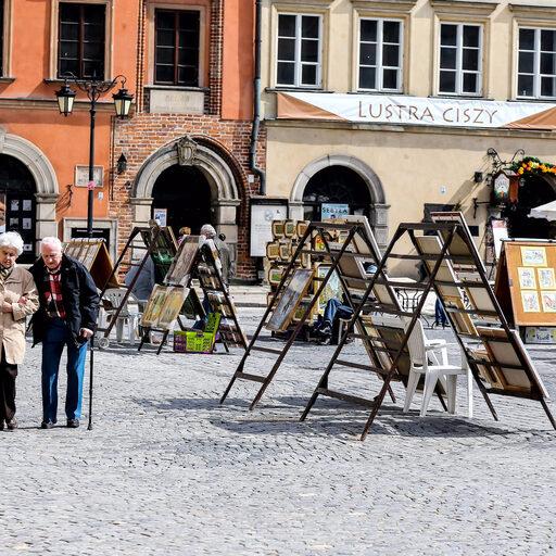 Прогулка по Варшаве, часть 2