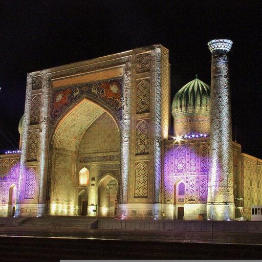 Узбекистан — погружение в Азию. Часть 1 (Самарканд)
