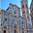 Флоренция. Собор Санта Мария дель Фьоре иколокольня Джотто.