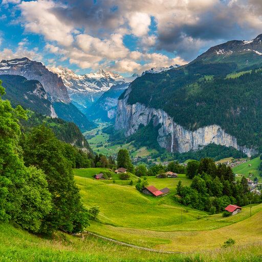 Швейцарские открытки