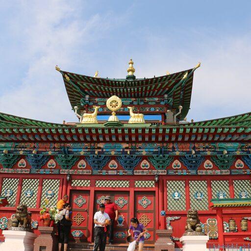 Иволгинский дацан, центр буддизма России