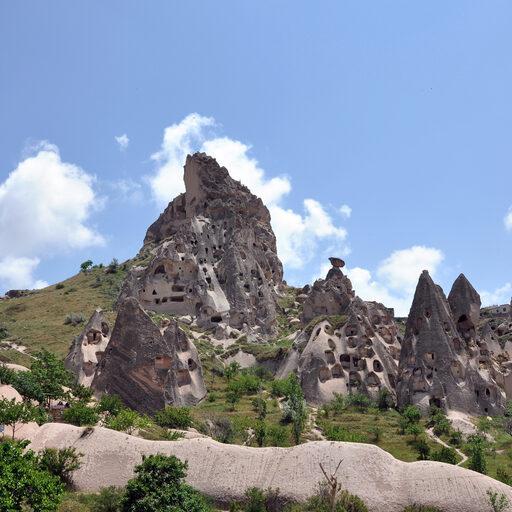 Фантастические ландшафты Каппадокии