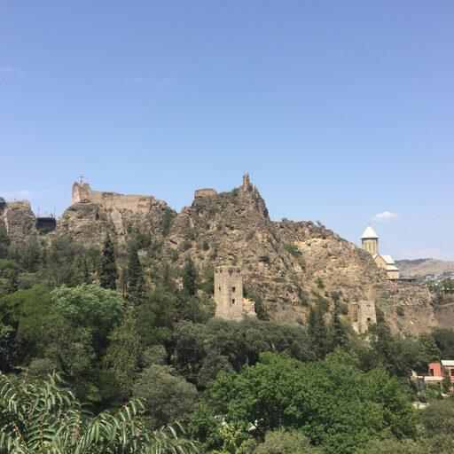 Капелька экстрима в городе — Тбилиси — Tbilisi