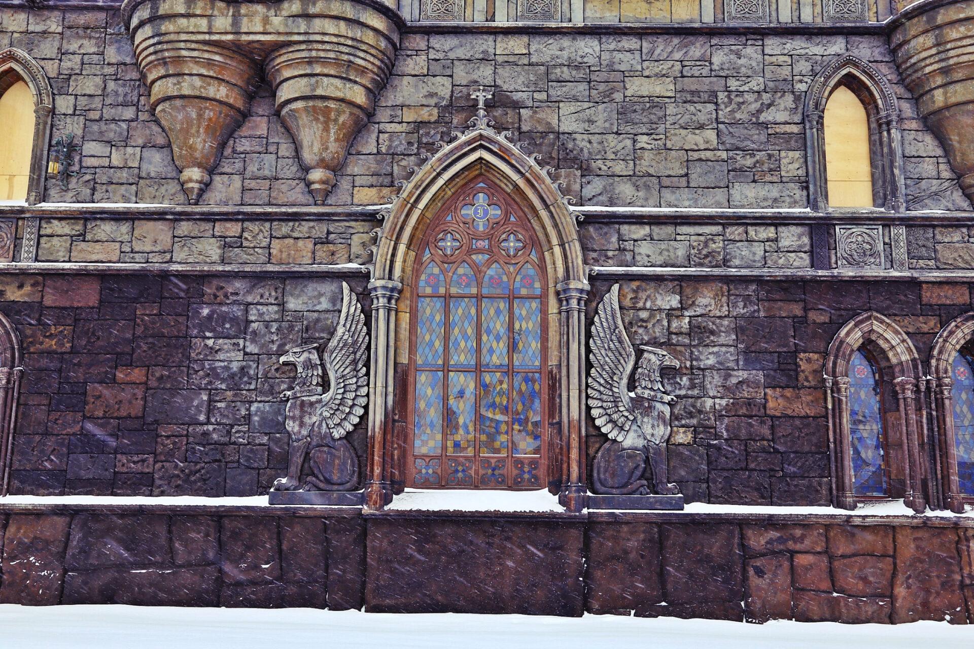 Неоготический замок вХрящевке