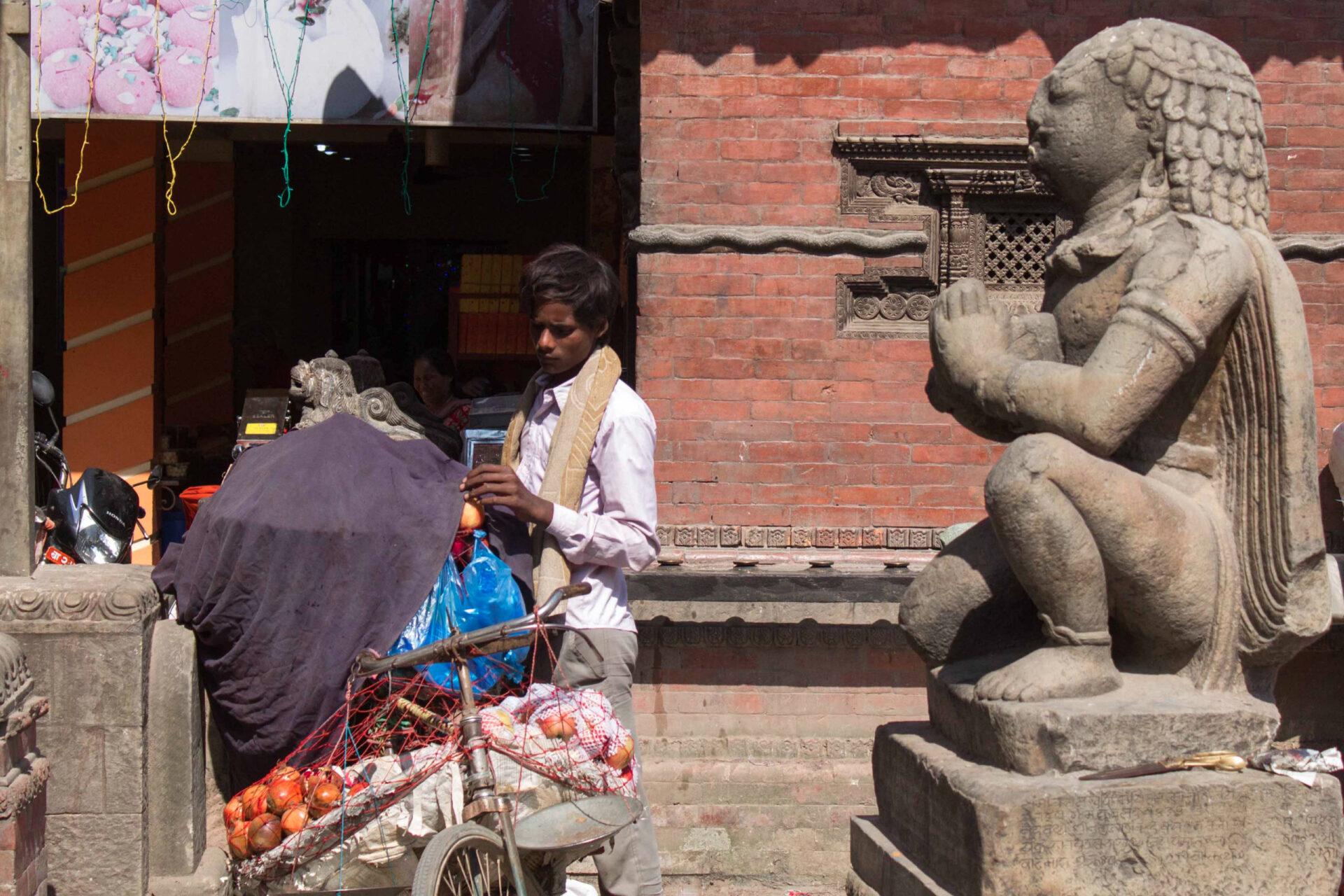 Катманду, начало пути.