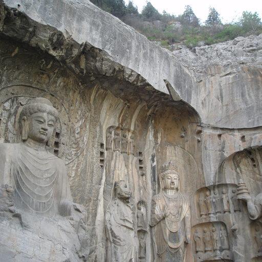 Китай. Часть 2. Гроты Лунмэнь: драконовы ворота