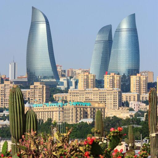 Солнечный Азербайджан.